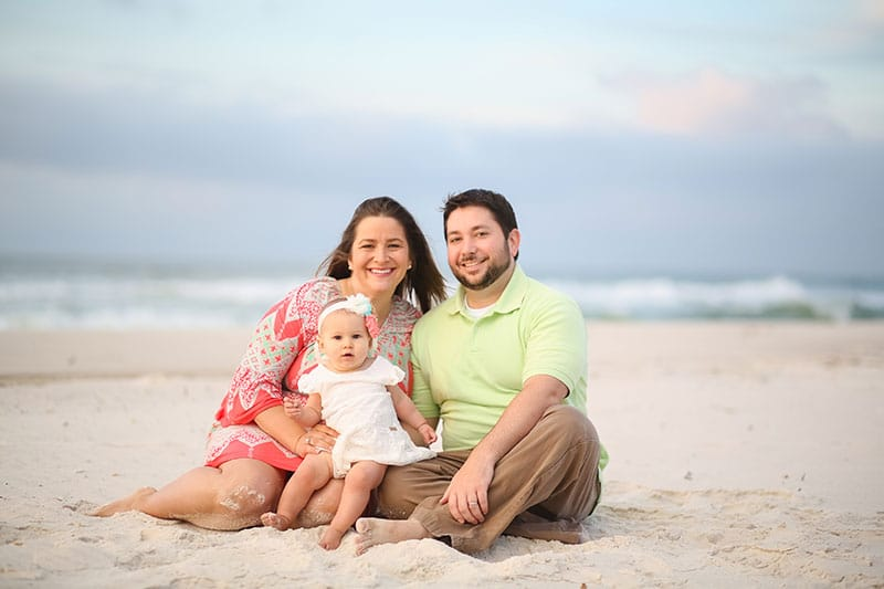 Baby's First Beach Pictures - Perdido Key Photographer 4