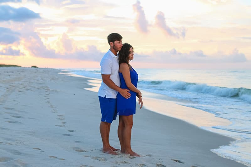 Sunrise Engagement Photography - Gulf Shores Photographer 11
