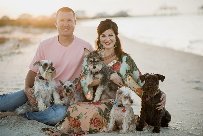Puppy Family - Dauphin Island Photographer 2