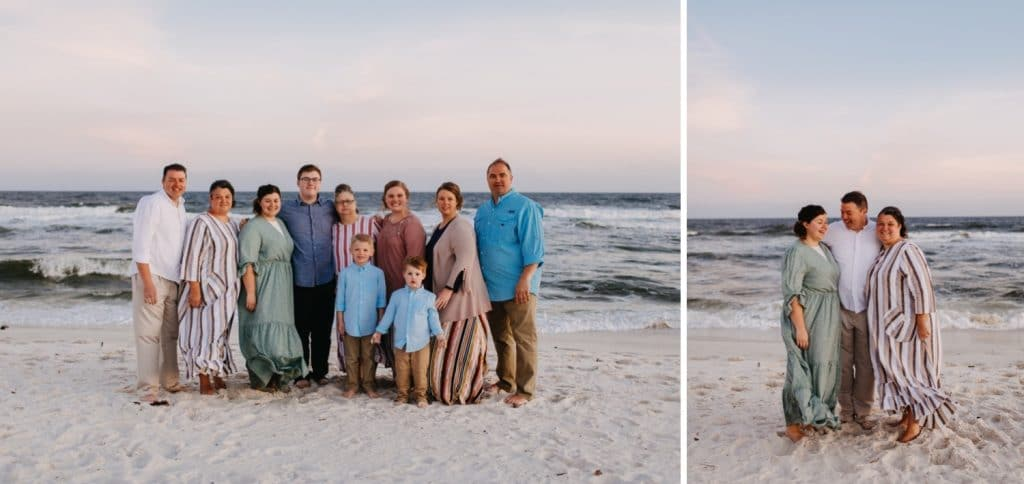 Multi-Family Beach Photography - Gulf Shores Photographer 14